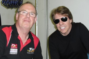 Marc Tyley with George Thorogood.