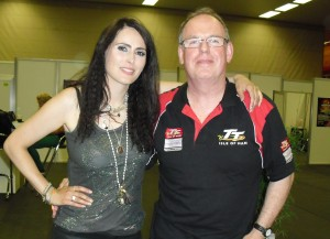 Marc Tyley with Sharon den Adel.
