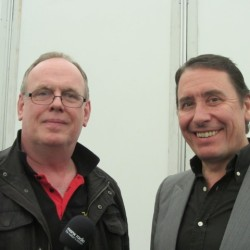 Marc with Jools Holland